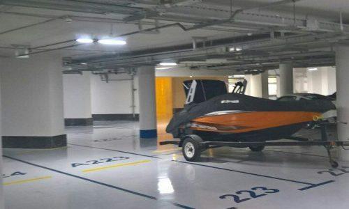 پارکینگ برج های دوقلوی کیش