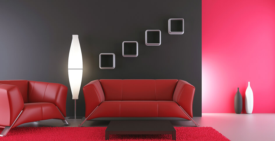 interior colors contrast