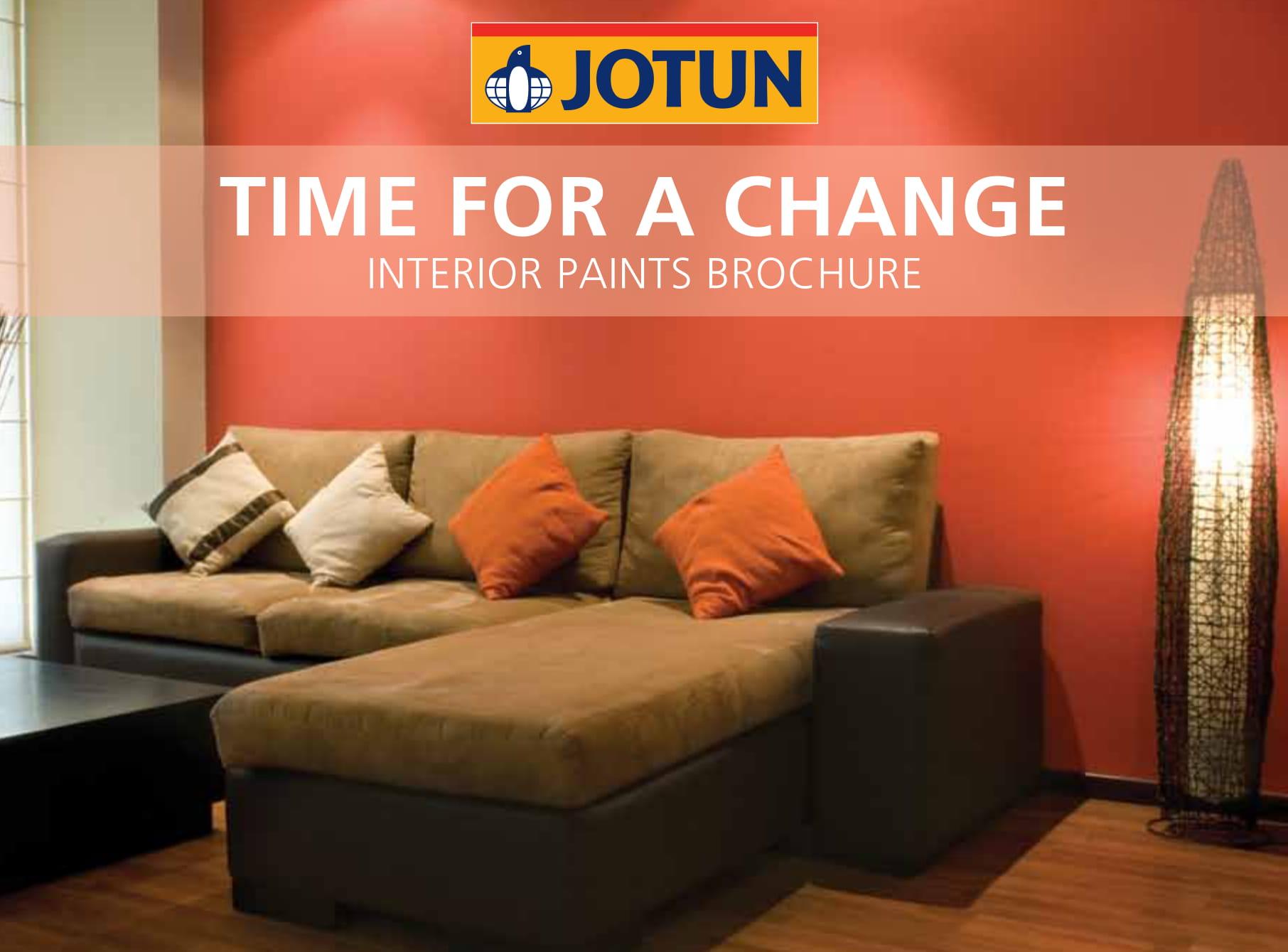 Interior Paints Brochure