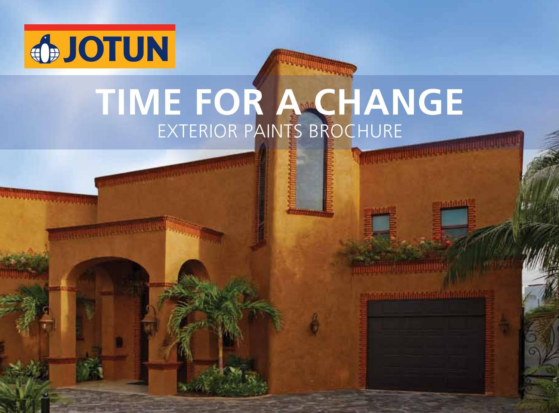 Exterior Paints Brochure